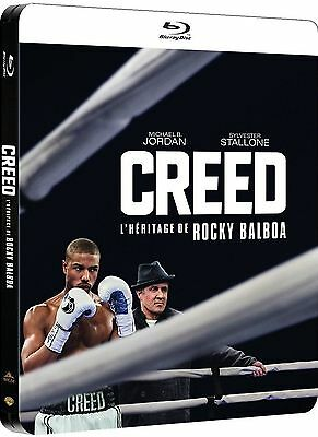 Blu-Ray Creed Steelbook Sylvester Stallone - Neuf