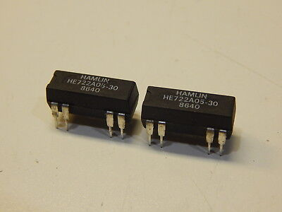 Hamlin He722A05-30 Reed Relay 5V Spdt - You Get 2 Pieces