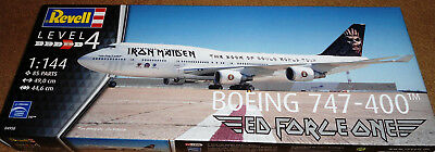 "Revell Germany 1/144 Boeing 747-400 Iron Maiden ""Ed Force One"""