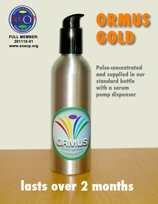 Ormus Gold: PULSE-concentrated monoatomic supplement (250 ml) with serum pump