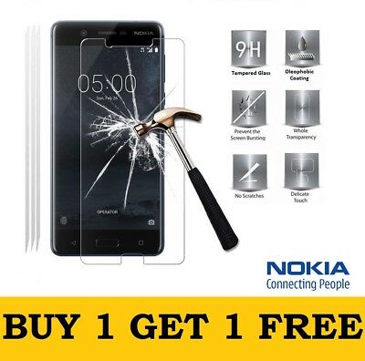 9h Hard Real Tempered Temper Glass Screen Protector For NOKIA 8