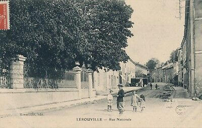 CPA - France - (55) Meuse - Lerouville - Rue Nationale
