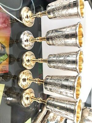 Sterling Silver Liquor Cups
