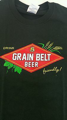 7c417493a87ac2 Brand New Black Grainbelt Premium Beer Shirt Size Small S Fast Shipping