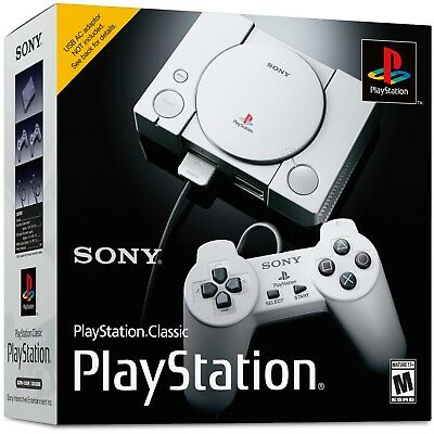 Sony PlayStation One Classic Console Modded 200 Games!