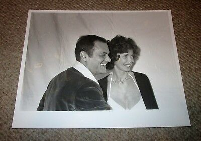 Tony Curtis Leslie Penny Allen 3rd Wife Bw 8x10 Casual Press