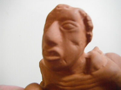 RARE Birger Figurine Cahokia ruins 1000 year-old Mississippian culture Museum