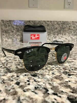 532c5d1671d532 ... where can i buy ray ban 3016 clubmaster 901 58 polarized black gold 51mm  read carefully