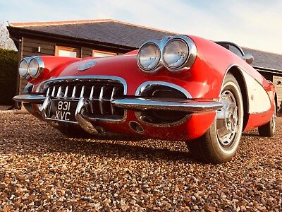 1959 Corvette C1 4-Speed Manual   E-Type 911 Hotrod Custom Stingray Roadster