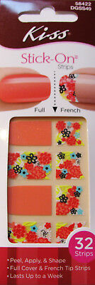 Kiss Stick on Strips - 32 Strips - Peel, Apply and Shape - DGSS49