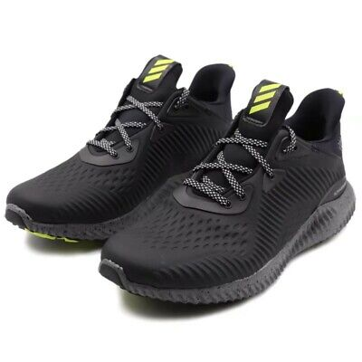 b59f27276 Mens Adidas Alphabounce All Terrain Black Running Athletic Shoes BW1223  10.5-13