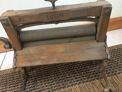 Vintage LOVELL No. 32 Clothes Wringer Washer Erie, PA Nice Working Condition