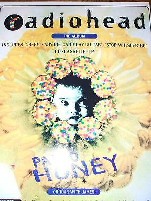 Radiohead Pablo Honey Poster