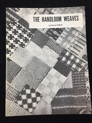 1957 The Handloom Weaves By Harriet Tidball. 38 Pages