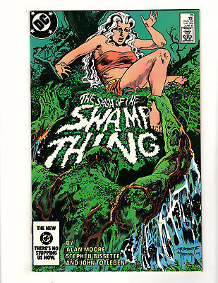 Saga of the Swamp Thing #25 (1984 DC) VF/NM 1st Cameo App John Constantine Moore