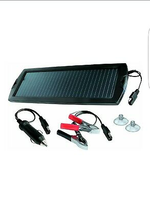 GYS Solar Power Charger Trickle Charger to Top-Up Automotive Car Batteries