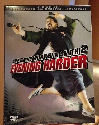An Evening With Kevin Smith 2 - Evening Harder- DVD - Free Shipping!