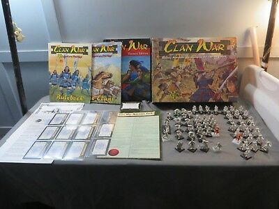 AEG Clan War Legend of the FIve Rings Fantasy Minatures Extras