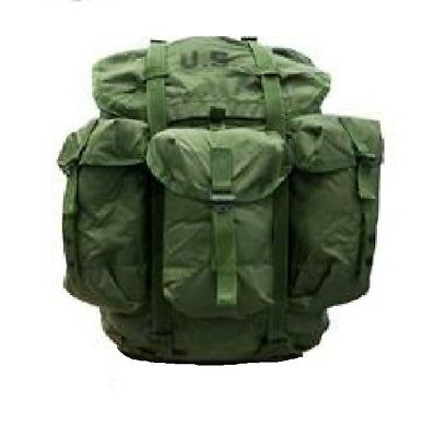 VIETNAM SPECIAL FORCES 1960s ALICE MEDIUM NYLON MILITARY RUCK SACK ONLY NO FRAME