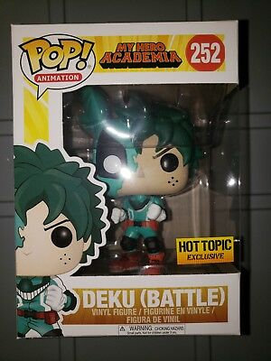 Funko Pop My Hero Academia: Deku Battle #252. Hot Topic Exclusive