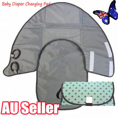 Waterproof Portable Clean Hands Baby Diaper Changing 3-in-1 Diaper Clutch Pad VW