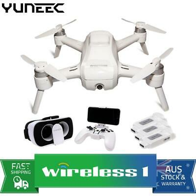 Yuneec Breeze 4K Drone Bundle with FPV Headset, Controller, 3 batteries