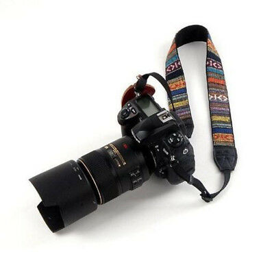 DSLR Belt Strap Shoulder Neck Panasonic Vintage Camera Canon Nikon For SLR Sony
