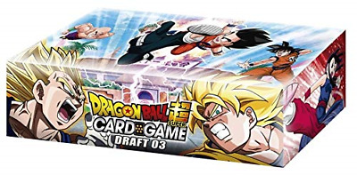 Dragon Ball Super Draft 03 Booster Box Trading Card Game 24 Packs New Leaders