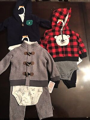 Baby Boy 9m Winter Clothing Lot