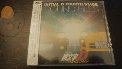INITIAL D / Fourth Stage SOUND FILES CD MIYA Records