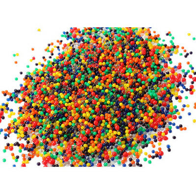 Mud Water Beads Grow Water beads Home Decor 1000 Particles Pearl Shaped Crystal