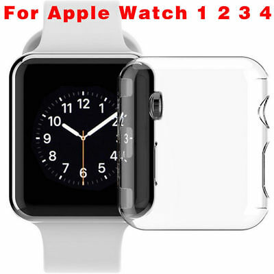 Für Apple Watch Series 4 3 2 1 iWatch-Schutzhülle Ultra Thin HD Clear Protective