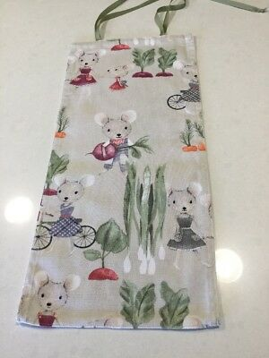 Mouse In The Garden, Slim Line, Space Saving, Baby Diaper Nappy Stacker,NEW (T7)