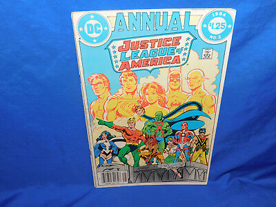 Justice League Of America Annual #2 1st Appearance Of Vibe DC Comics