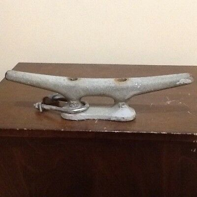 12 Inch Vintage Galvanized Ship Boat Dock Cleat Home Decor