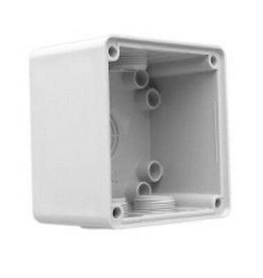 Clipsal INDUSTRIAL MOUNTING ENCLOSURE 101x101x63mm 1-Gang, Grey *Aust Brand