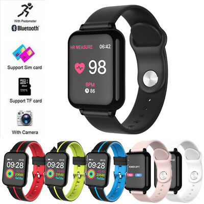 Smart Watch Band Heart Rate Oxygen Blood Pressure Fitness Tracker Sport Activity