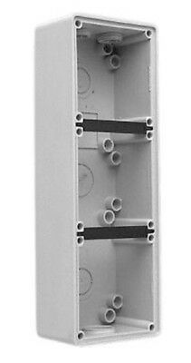 Clipsal INDUSTRIAL MOUNTING ENCLOSURE 294x101x63mm 3-Gang, Grey *Aust Brand