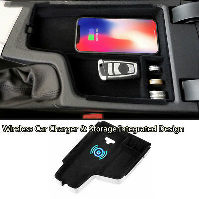 Car Quick Charger&Storage Cup Holder key Chain for BMW 3 series F30 F31 F32 F34