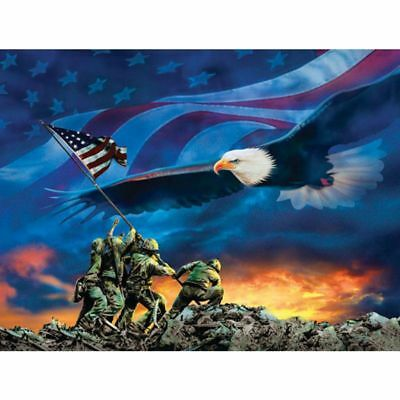 National Flag DIY 5D Full Drill Diamond Painting Embroidery Cross Stitch Kit