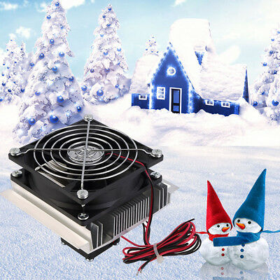 60W Thermoelectric Peltier Refrigeration Cooler Fan Cooling System Kit Useful
