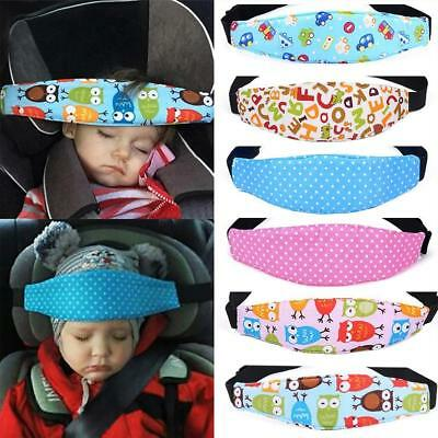 Baby Safety Car Seat Sleep Nap Aid Child Kid Head Protector Belt Support Holder^