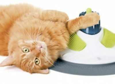 Catit Design Senses Massage Center - massage, grooming, relaxation for your cat.