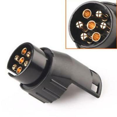 7 To 13 Pin Mini Car Truck Trailer Connector Electric Adapter Plug Trailer End