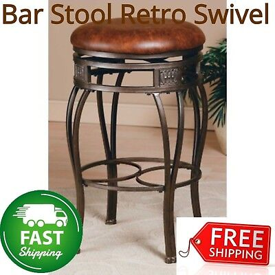 Awe Inspiring Frontgate Chapman Backless Swivel Counter Bar Stool 30 Seat Machost Co Dining Chair Design Ideas Machostcouk
