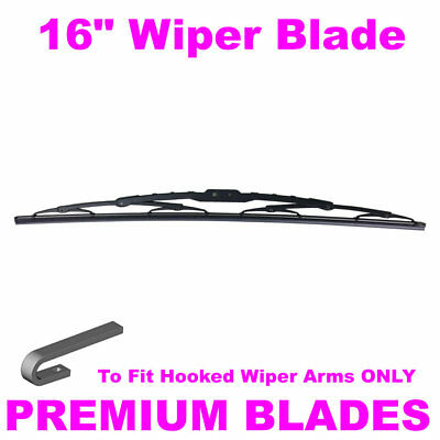 "Multi-Clip 16"" Inch Front Windscreen Wiper Blade"