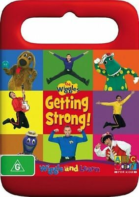 Wiggle and Learn Getting Strong DVD 2007 Brand New Sealed