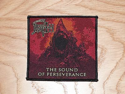 Death - The Sound Of Perseverance (New) Sew On Patch Official Band Merch