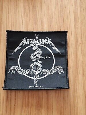 Metallica -  Death Magnetic (New) Sew On W-Patch Official Band Merch