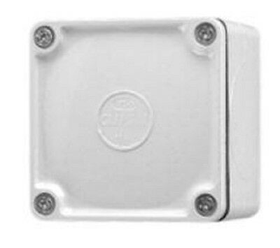 Clipsal PVC ADAPTABLE BOX Surface Mounted, Grey- 77x77x54mm Or 108x108x76mm